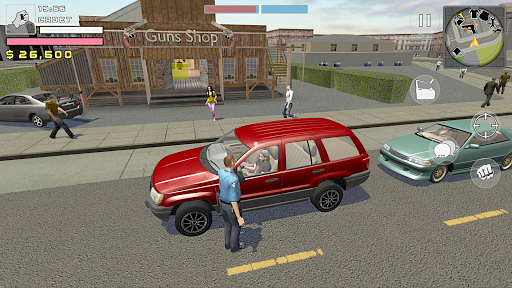 Police Cop Simulator. Gang War apkmr screenshots 2