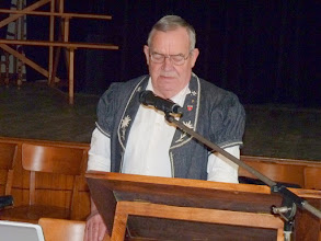 Photo: Rapport du président Marcel Thürler