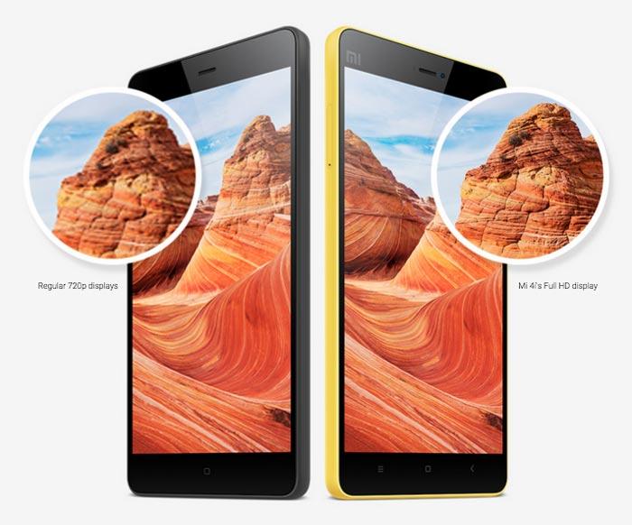 Xiaomi Mi 4i Display