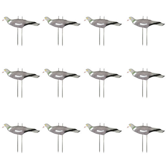 Hunter Decoys Pigeons 12-pack