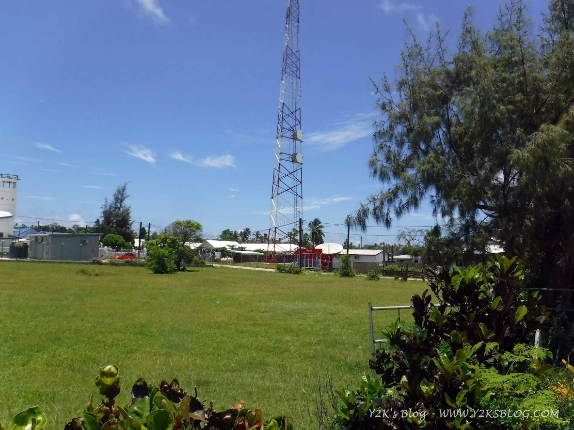 Impianto per le comunicazioni satellitari di Pangai - Ha'apai