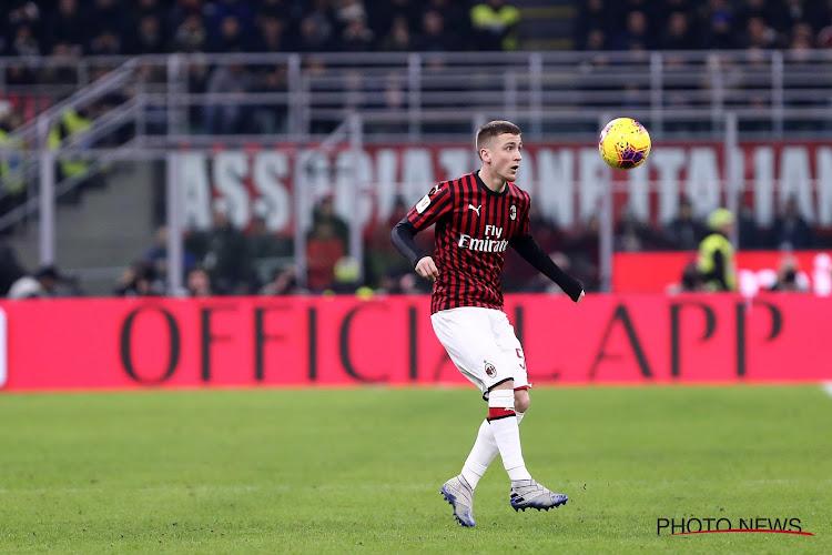 Officiel : L'AC Milan lève l'option d'Alexis Saelemaekers !