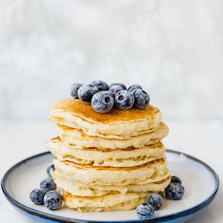 Homemade Buttermilk Pancakes.