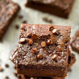 One-Bowl Flourless Almond Butter Brownies