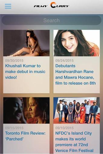 FilmyCurry - 5* Bollywood App