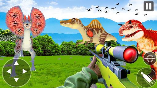 Jurassic Dinosaur Hunter Survival Dino 2020 apkpoly screenshots 2