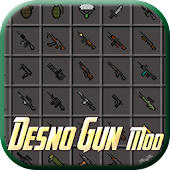 DesnoGuns Mod for Minecraft PE