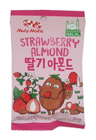 Almond Strawberry 30g Nuts Holic