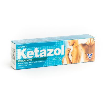Ketoconazol Ketazol 15g Crema Vargas