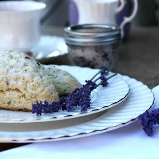 Lavender Scones.