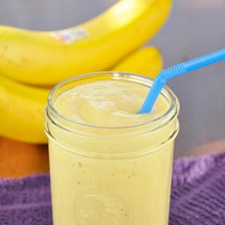 Banana-Mango Smoothie.