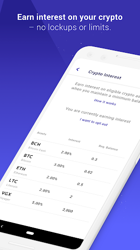 voyager crypto android come spiegare bitcoin