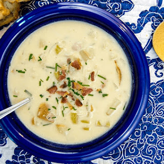 One Pot New England Clam Chowder