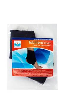 Tobillera Kamex Corta Negro