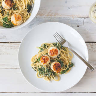Scallops Pasta Recipes.