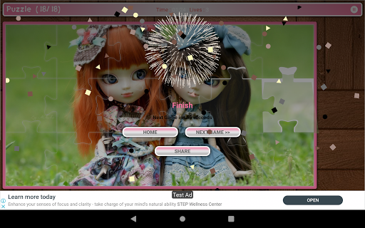 Cute And Beautifull Doll Game Puzzle android2mod screenshots 18