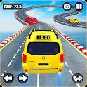 Prado Taxi Car Impossible Tracks Crazy Car Stunts icon