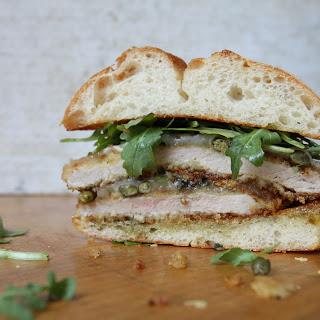Crispy Pork Schnitzel Sandwiches