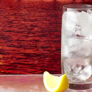 Elderflower Gin and Tonic.