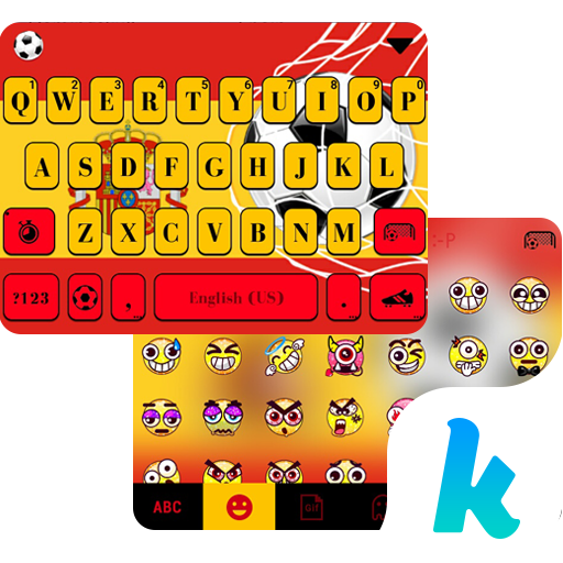 Spain Football Kika Keyboard Icon