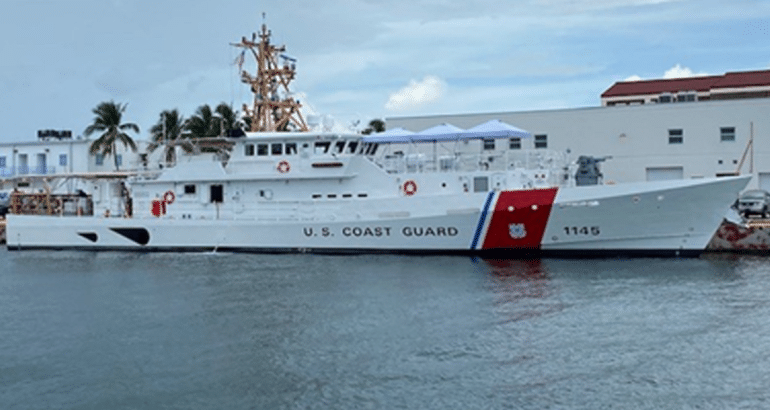 U.S. Coast Guard Takes Delivery Of Its 45th Fast Response Cutters