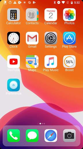 ilauncher x - new ios theme for iphone launcher screenshot 1