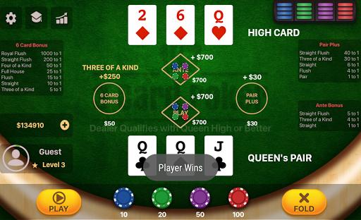 Three Card Poker  screenshots 4