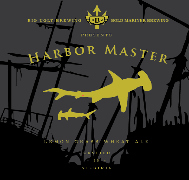 Logo of Big Ugly Harbor Master Lemongrass Wheat Ale