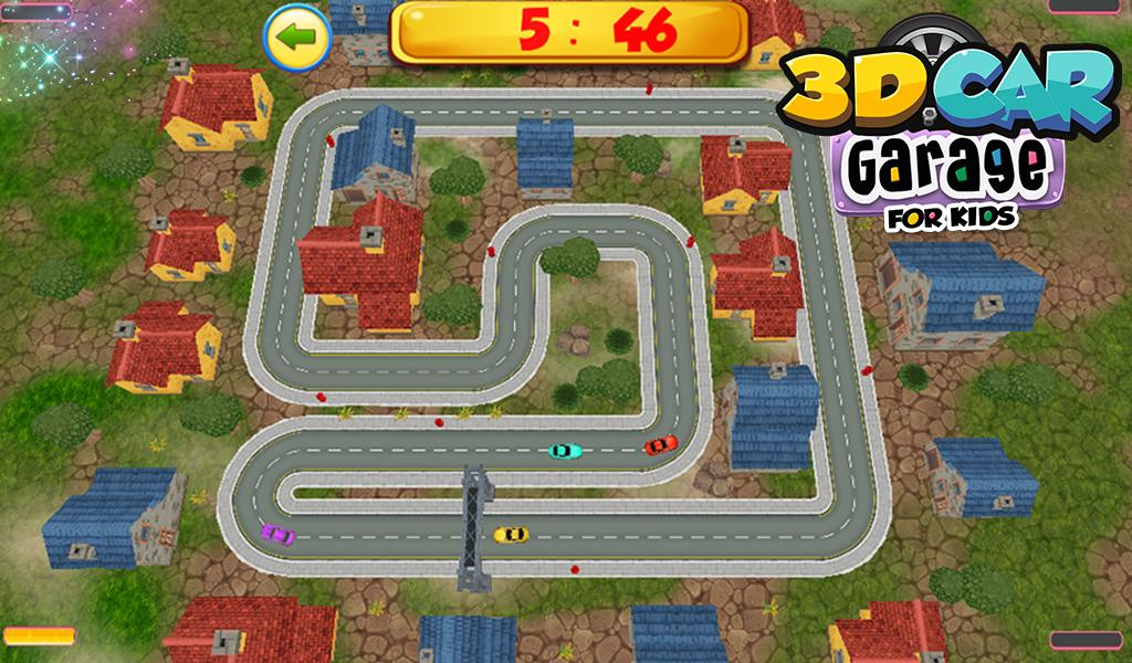 3d Car Garage For Kids Android Apps On Google Play