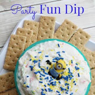 Funfetti Vanilla Graham Cracker Dip.