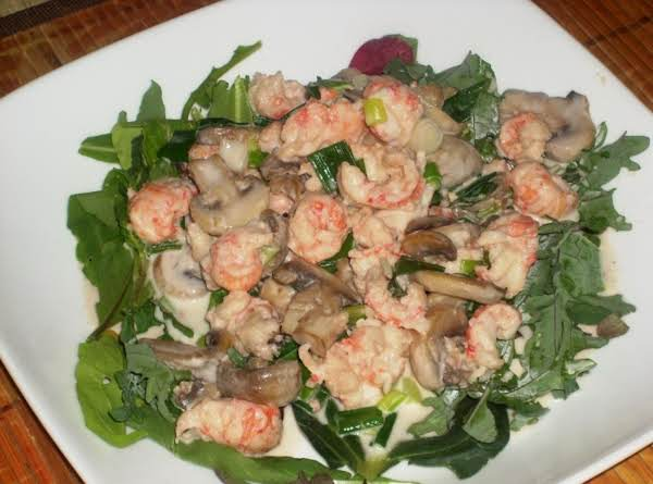 Warm Langostino Salad Recipe