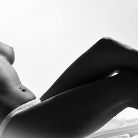 by  pemavis Photography - Nudes & Boudoir Artistic Nude ( body, sexy, girl, lingerie, nude art, bw, panty, posing, dessous, shapes )