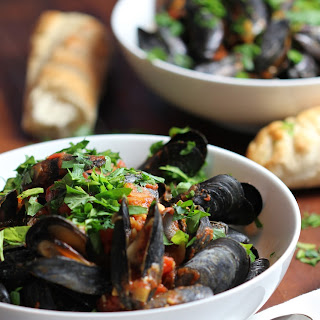 Spicy Mussels Marinara