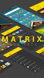 Matrix icon pack screenshot 0