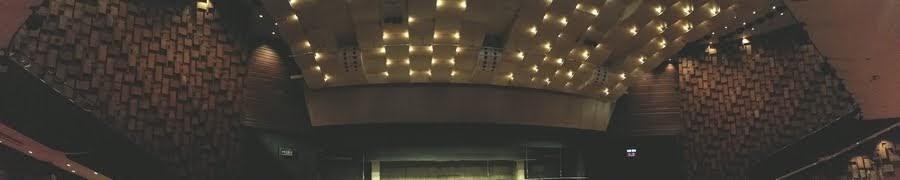 中日劇場の天井パノラマ撮影