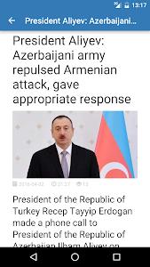 Azerbaijan News screenshot 1