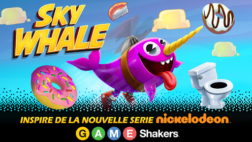 Code Triche Game Shakers : Sky Whale APK MOD (Astuce) screenshots 1