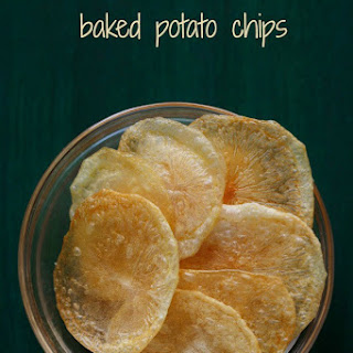Baked Potato Chips No Oil Recipes