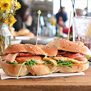 The Bacon & Egg Sandwich