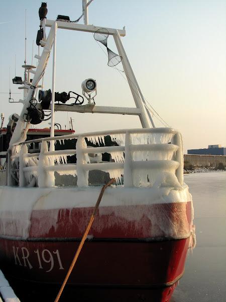 Photo: en fisk båt på Saltö sund