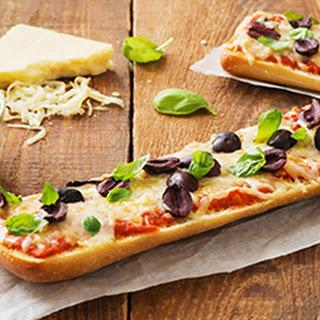 Ciabatta Pizza.