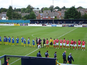 Photo: 27/08/12 v Hayes & Yeading (Football Conference South) 2-2 - contributed by Gyles Basey-Fisher