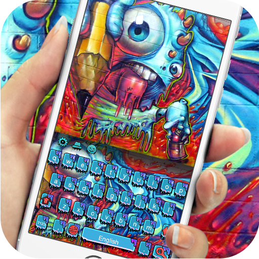 Street graffiti rock keyboard (app)