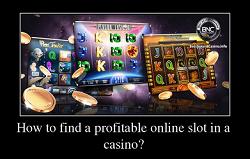 Hvordan finne en lønnsom spilleautomat?