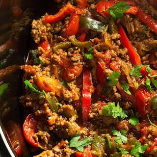 Slow Cooker Turkey Fajita.