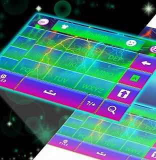 Electric Color Keyboard screenshot 01