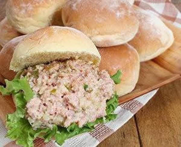 Mom's Bologna Salad | Just A Pinch Recipes