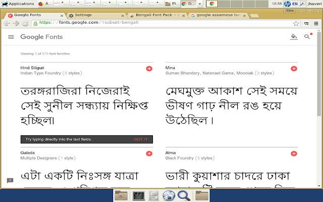 Bengali Font Pack