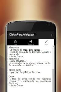 Dietas Para Adelgazar screenshot 3