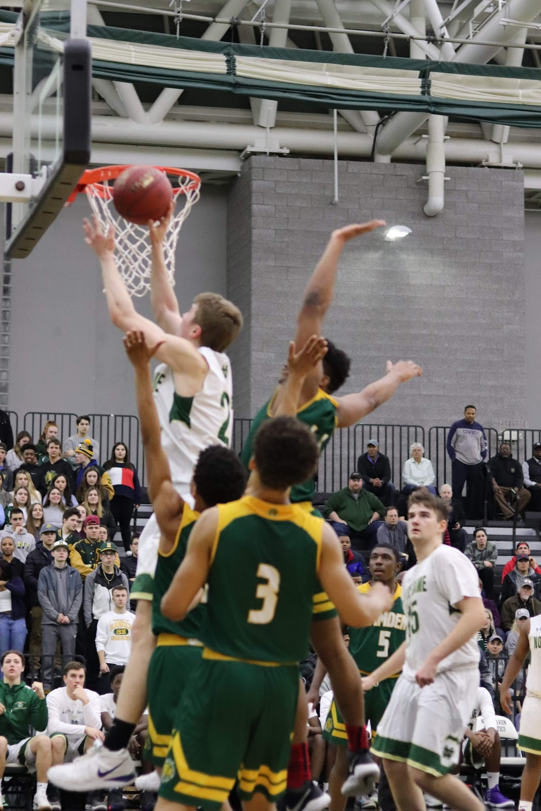 619615bad377 Basketball Moves on to SCC Championship Game with Win Over Hamden ...